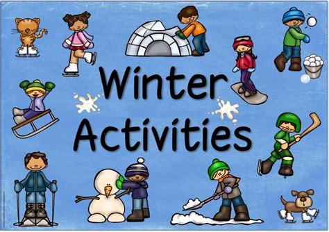 "Ideenreise Ergänzende Materialien ""winter Activities"""