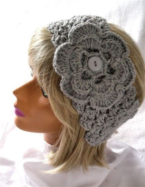 crochet hair band 17 best images about crochet scarves and headbands on