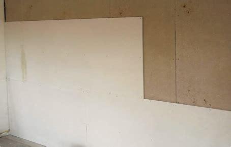 isoler phoniquement un mur avec des plaques de pl 226 tre