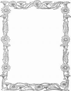 daisy border - /page_frames/floral/daisy_border.png.html