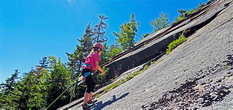 west wall climb  bretton woods adventure center mount