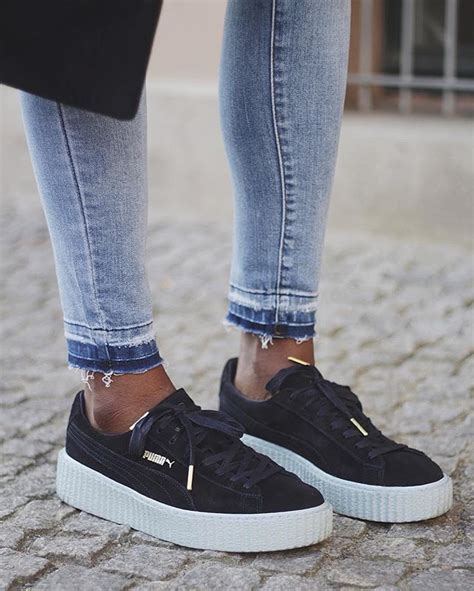 puma creepers images  pinterest