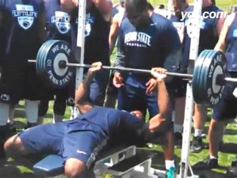How Many Reps For Bench Press by How Many Bench Press Reps Can Deion Barnes Do With 225