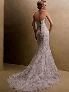 champagne lace strapless wedding dress naf dresses With lace champagne wedding dress