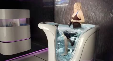 For Real? The $18,000 Hot Tub Bike Machine  Fit Wet