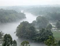 Image result for pictures of fog rises from the river in columbus ga