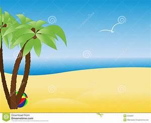 Beach Scene Clip Art #154781