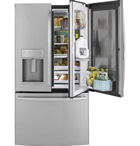 ge profile series  cu ft counter depth french door refrigerator  door  door
