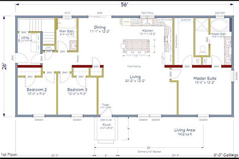 modern colonial house plans ranch house plans with open concept cottage house plans