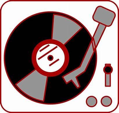 Turntable Clipart Dj Clip Vinyl Player Record