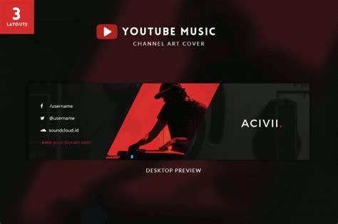 youtube banner templates  premium templates