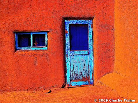 Taos Pueblo Door. New Mexico by Charlie Fisher | Black ...