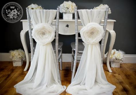 bliss extraordinary floral gorgeous and groom chair decor
