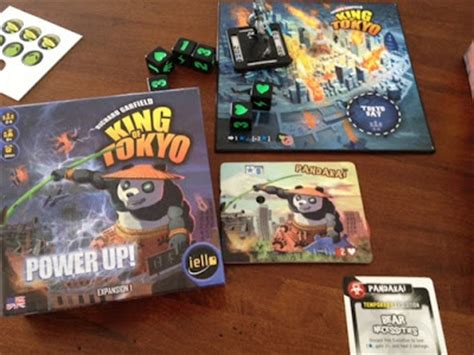 king of tokyo power up mini review board reviews