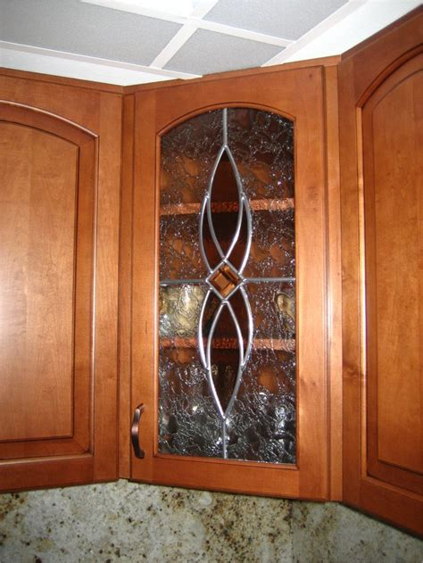 kitchen cabinet glass inserts leaded 38 best stained glass cabinets images on 7836