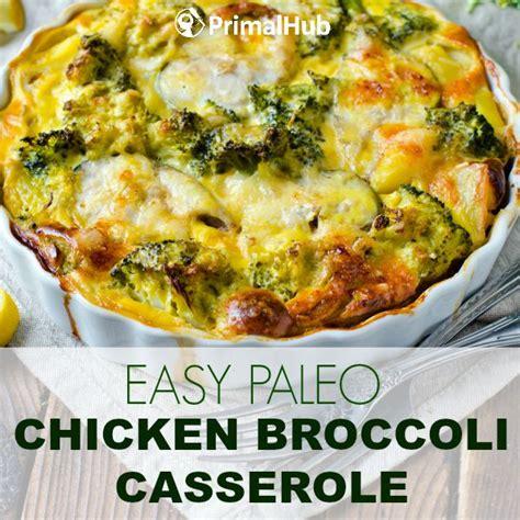 easy dinner casserole recipes chicken broccoli casserole healthy