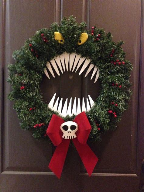 nightmare  christmas reef christmas decorating