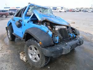 wrecked jeep wrecked 2011 jeep wrangler r for sale in tx anthony lot