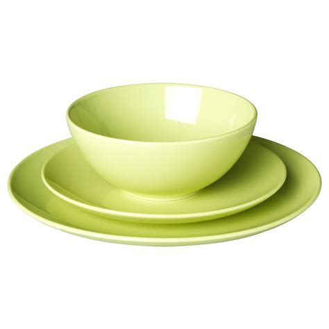 Geschirr Ikea by F 196 Rgrik 18 Dinnerware Set Green Stoneware Ikea