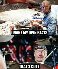 Neil Peart Meme - drummers on pinterest drummer humor drums and bass drum