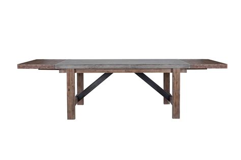 concrete dining table  karger gallery