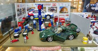 """ Karam's record breaking collection of model cars and dioramas"
