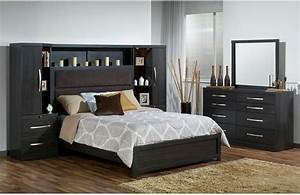 Bedroom furniture package deals willowdale queen 8 piece for Bedroom furniture home bargains