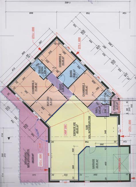 plan maison en v plan maison en v 107m2 vos avis et suggestions