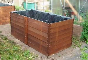 Hochbeet Bauen Holz : hochbeet selber bauen aus holz und metall raised garden bed construction idea youtube ~ Whattoseeinmadrid.com Haus und Dekorationen
