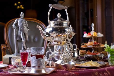 russischer tee typisch russisch ist tee trinken mit genuss