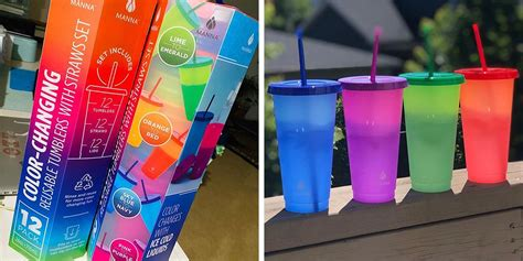 costco  stocked  color changing tumblers  fun