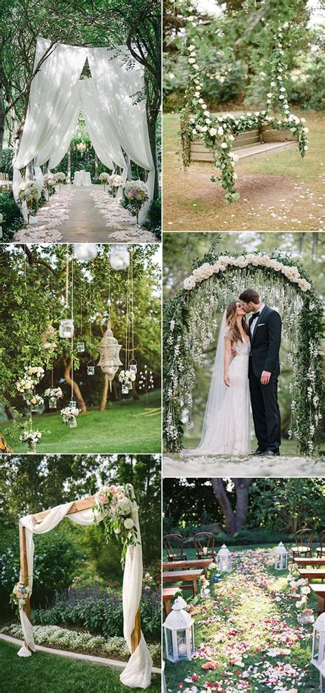 totally breathtaking garden wedding ideas   trends