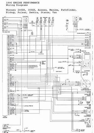 1993 Nissan 240sx Electrical Wiring Diagrams Manua 25830 Netsonda Es