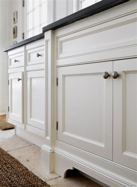 cabinet base trim add moulding base to cabinets gotta try this