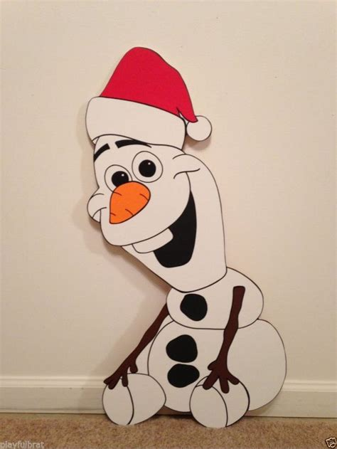 christmas soldier steps to drawyard sign olaf frozen yard decoration 2