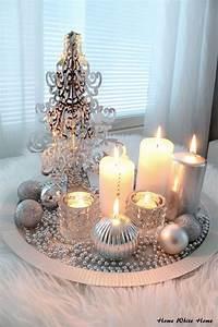 Silberne Deko Vasen : 1001 ideen f r weihnachtstischdeko als erg nzung der fr hlichen stimmung ~ Indierocktalk.com Haus und Dekorationen