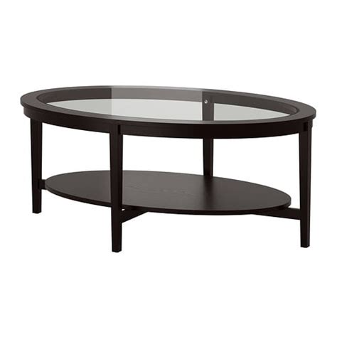 vittsj coffee table black brown malmsta coffee table black brown 130x80 cm ikea
