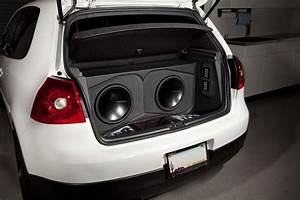 This Volkswagen Gti Mkv Features A Complete Rockford Fosgate System From Start To Finish