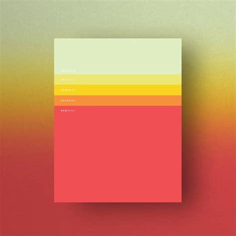 Minimalist Color Palettes by Duminda Perera