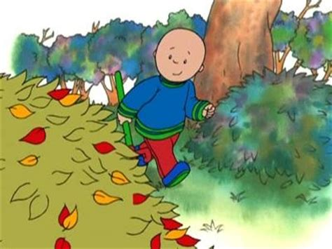 caillou scares rosie in the bathtub raking leaves caillou wiki fandom powered by wikia