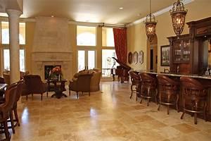 Living Room : Attractive Living Room Floor Tiles Design ...