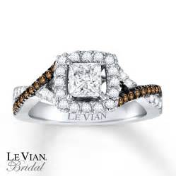 chocolate wedding ring le vian bridal chocolate diamonds 14k gold engagement ring