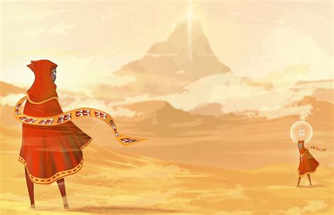 Journey Fan Art Is A Tranquil Search For Companionship