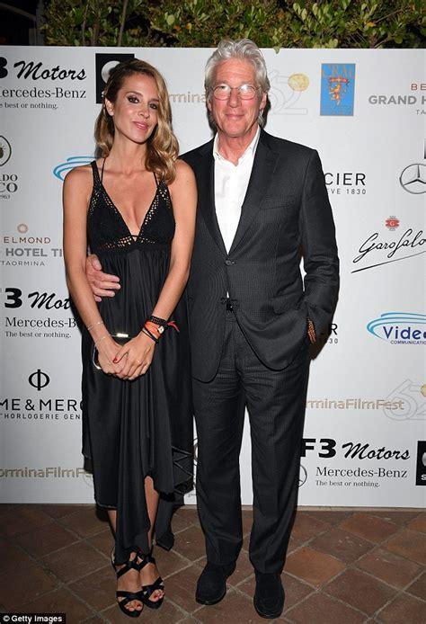 Richard Gere with stunning girlfriend Alejandra Silva at ...