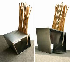 Metal And Woods : naturally man made 7 hybrid artisan wood metal chairs ~ Melissatoandfro.com Idées de Décoration