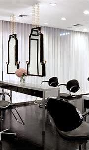 Interior Salon Designs: 5 Black & White Salon Design Ideas