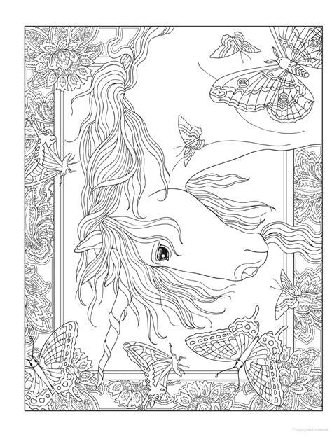 Creative Haven Unicorns Coloring Book in 2020 | Animal