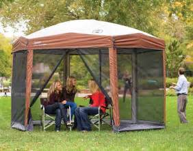 cing shelters screened canopy tents home house hiking 12 x 10 instant uvguard ebay