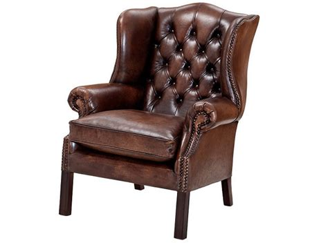 Best Brown Leather Armchairs
