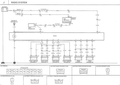 2007 kia sorento radio wiring diagram 2006 kia sorento